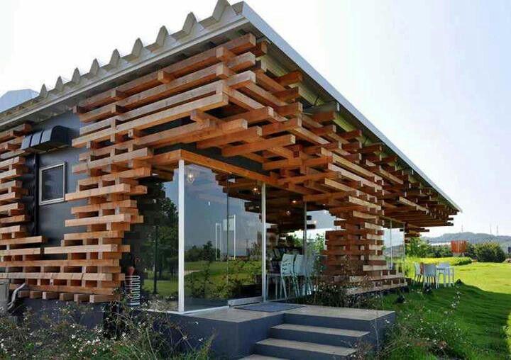 Amazing architecture wood cafe cafe design