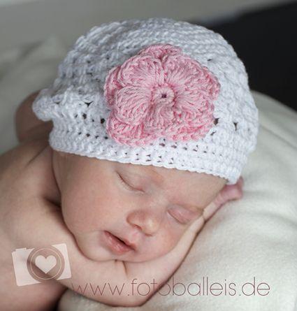 Babymütze ,Taufe \