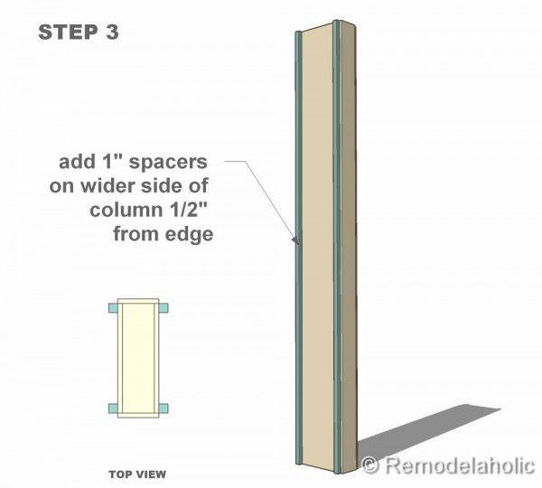 Charming Free Interior Column Plans
