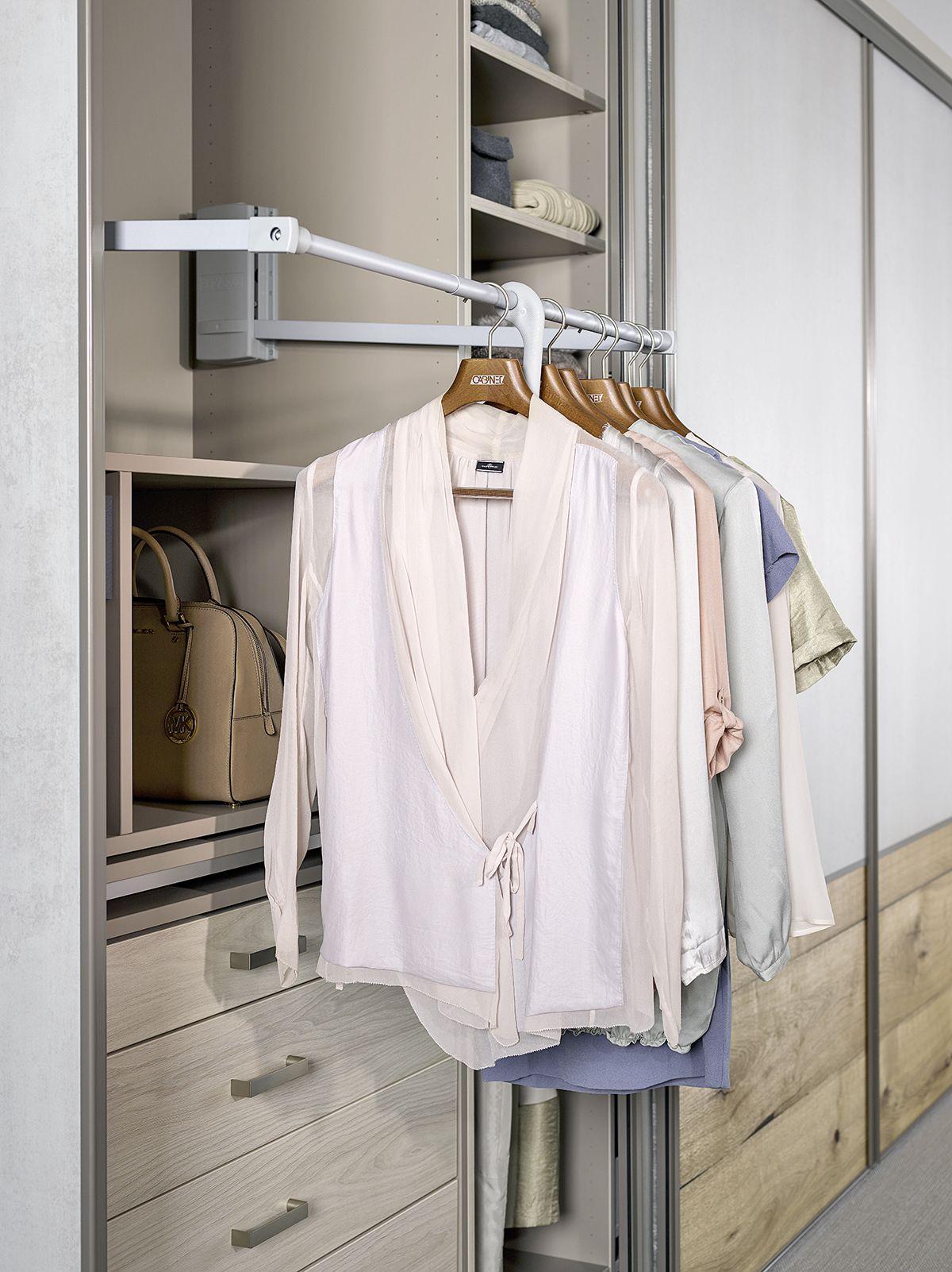 kleiderlift für den kleiderschrank von http://cabinet.de | ordnung, Schlafzimmer entwurf