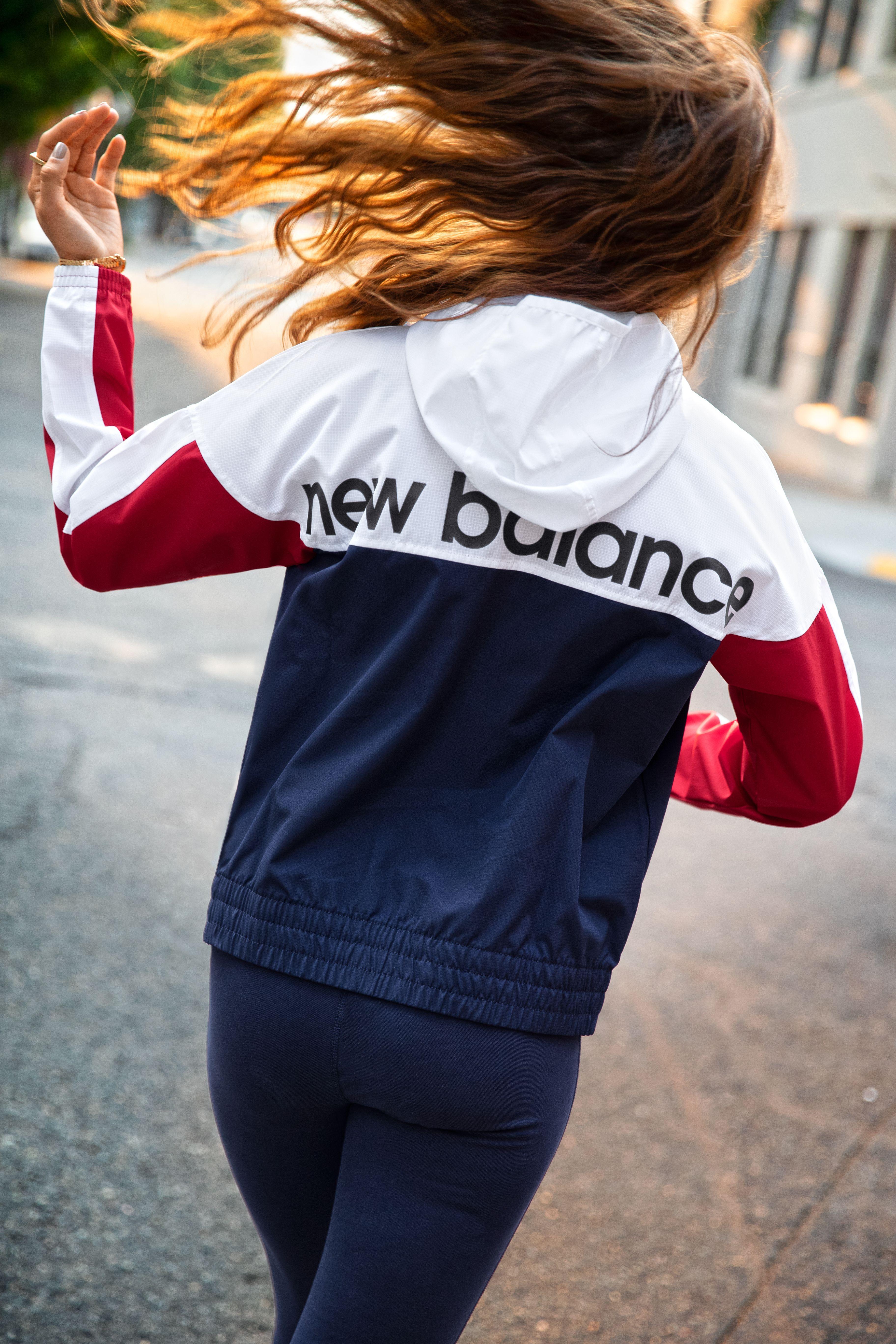 8d35f45956 NB Athletics Windbreaker in 2019   THRIVE   lifestyle apparel ...