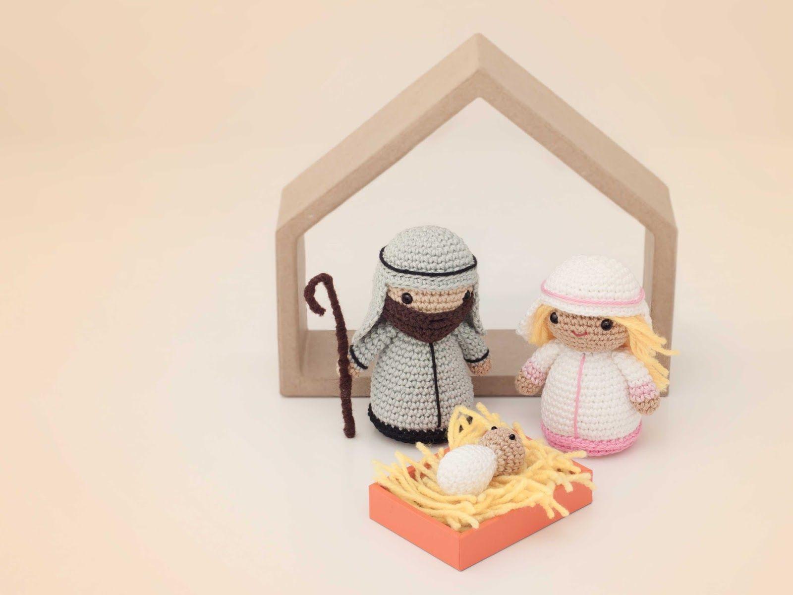 Amigurumi Navidad Nacimiento : Nacimiento amigurumis e amigos amigurumi navidad
