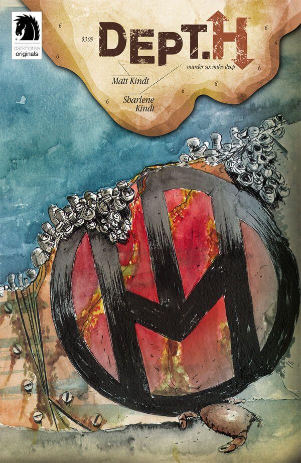 Preview: Dept. H #6, Dept. H #6  Story: Matt Kindt Art: Matt Kindt Cover: Matt Kindt Publisher: Dark Horse Publication Date: September 21, 2016  Price: $3.99  Ti...,  #All-Comic #All-ComicPreviews #Comics #DarkHorse #Dept.H #MattKindt #previews