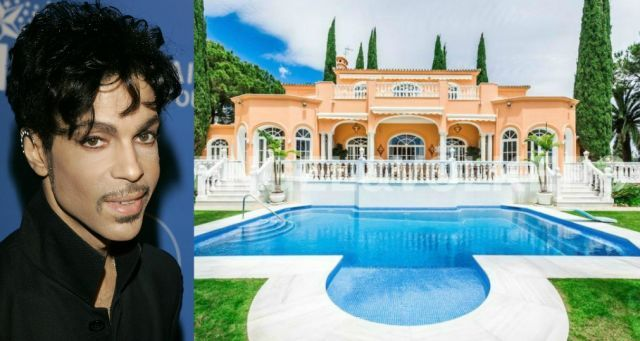 Location: El Paraiso, Spain. The late music icon truly lived up to his name, and his house reflected it. #prince #celebrityhomes