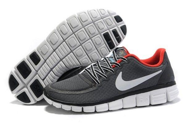 Goedkoper Te Koop Nederland Nike Free 5.0 V4 Heren Loopschoenen Donkergrijs/Wit