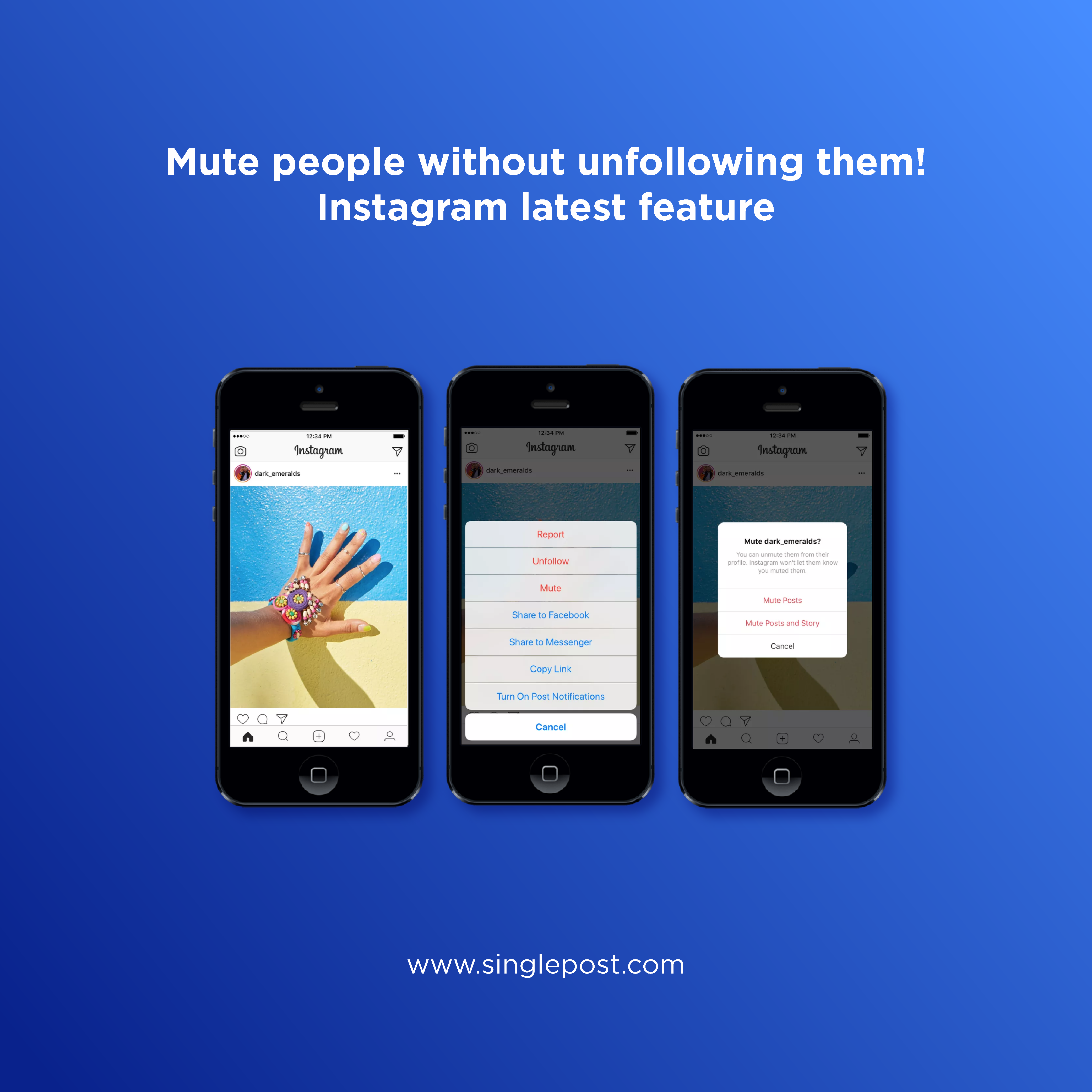 Wanna stop seeing someone's posts? Instagram is letting you