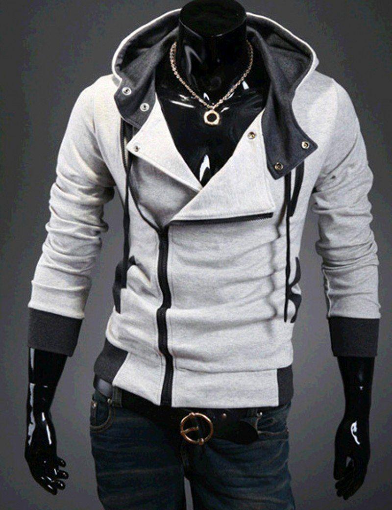 BIERELINNT Assassin Creed Style Cardigan Hoodies   Jungs