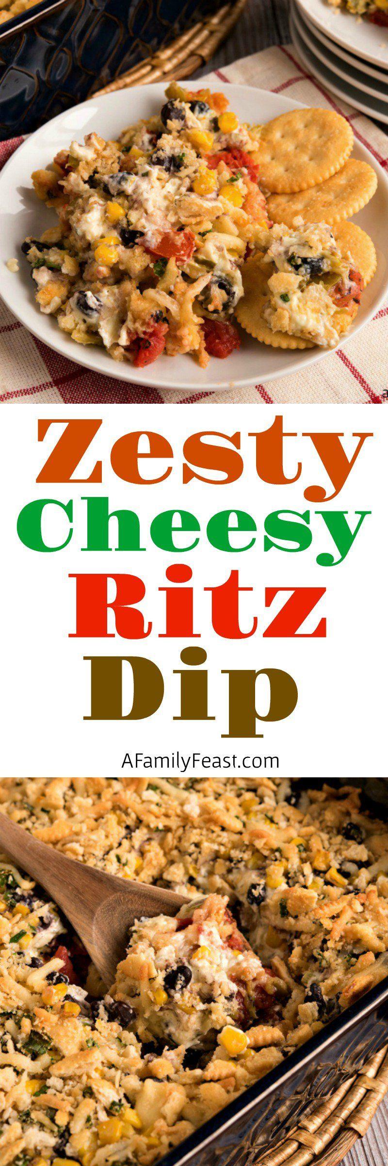 Zesty Cheesy Ritz Dip