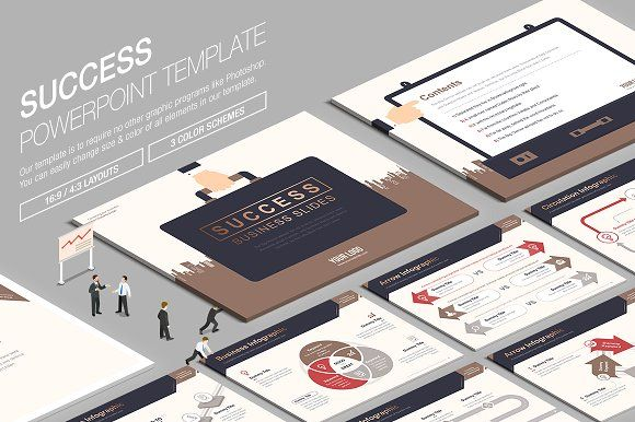 Business powerpoint template vol20 by lunik studio on business powerpoint template vol20 by lunik studio on creativemarket toneelgroepblik Images