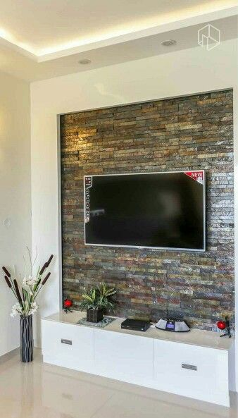 Tv Wall Living Room Wall Units Tv Wall Decor Stone Walls Interior