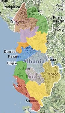 Albania Tourist Map Visit Albania The Official website of