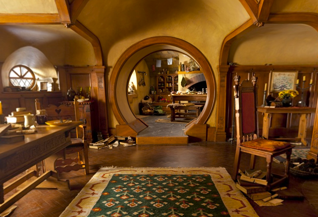 No Going Upstairs For The Hobbit: Bedrooms, Bathrooms