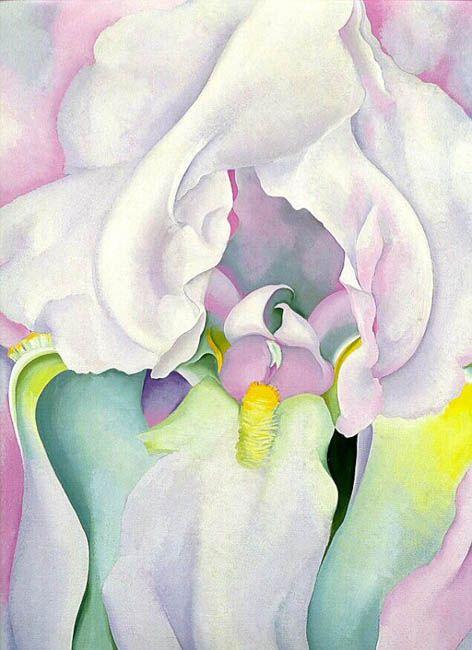 Light Iris (1924) by Georgia O'Keeffe