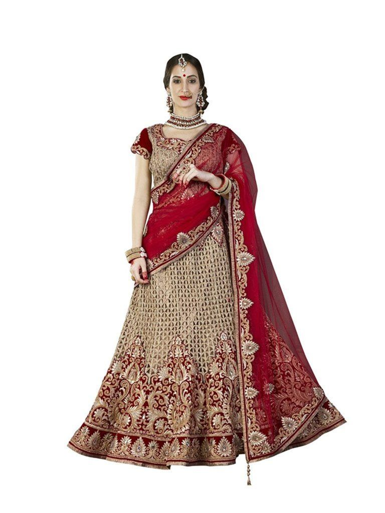 53d0a74c64d4 Best 10 Indian Designer Dresses For Brides Under Rs 20,000 Red Lehenga, Bridal  Lehenga,