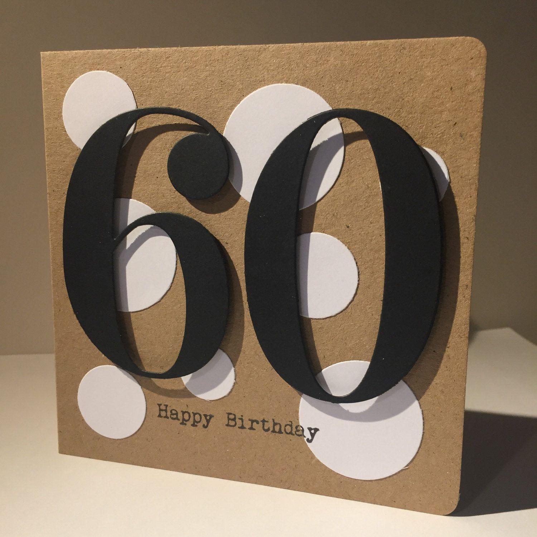Age 60 birthday card 60 60th birthday card handmade age 60 birthday card handmade by pintsizedetective on etsy bookmarktalkfo Choice Image