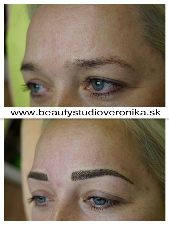 Permanent Make-up – Methode: gezeichnete Härchenlinien