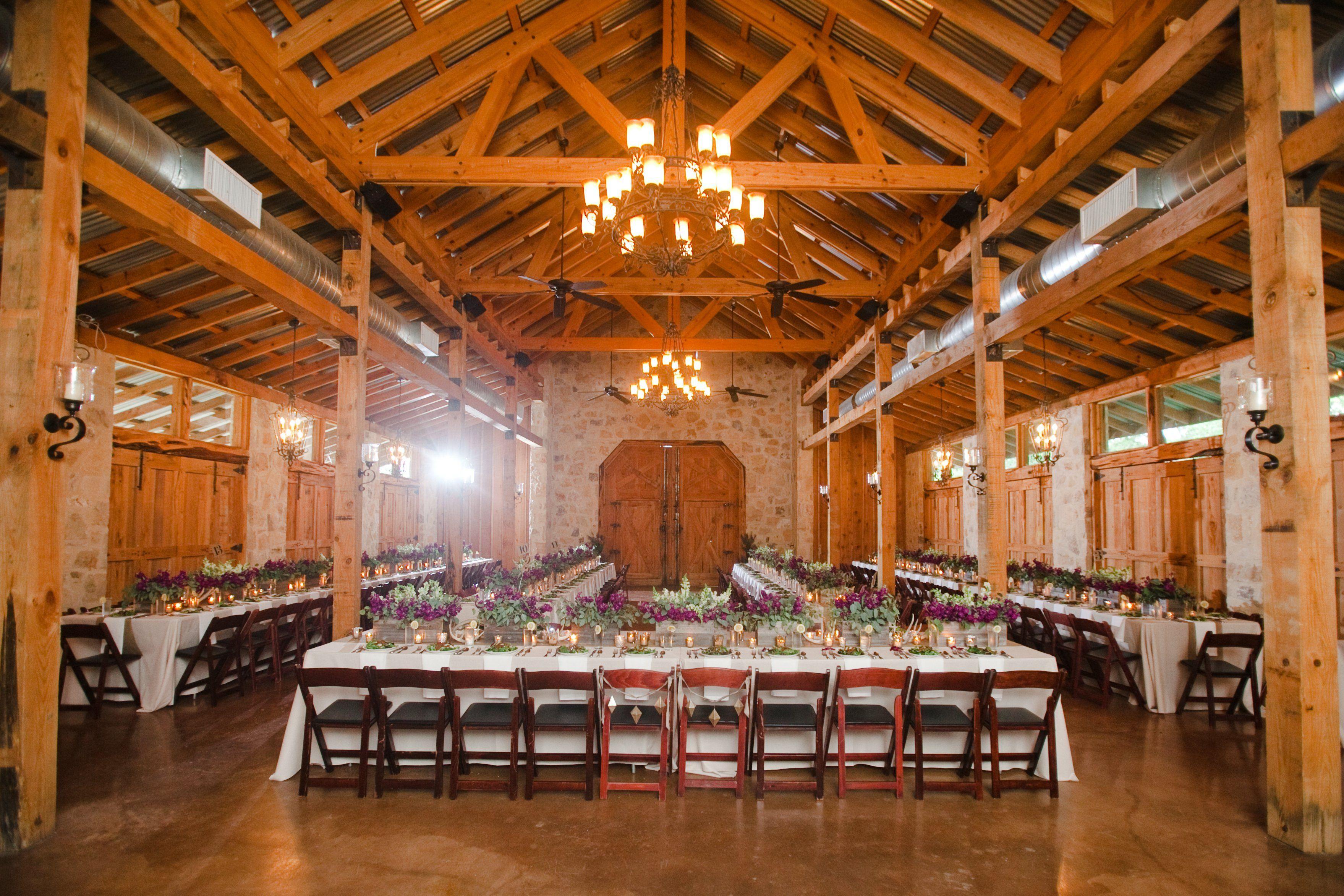 Wedding decoration ideas for hall  Honey Creek Ranch Reception Area  Wedding Decor Ideas  Pinterest