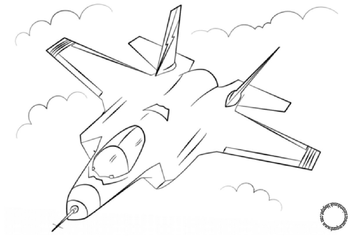 64 Koleksi Kolase Gambar Pesawat Tempur Gratis Halaman Mewarnai Buku Mewarnai Cara Menggambar