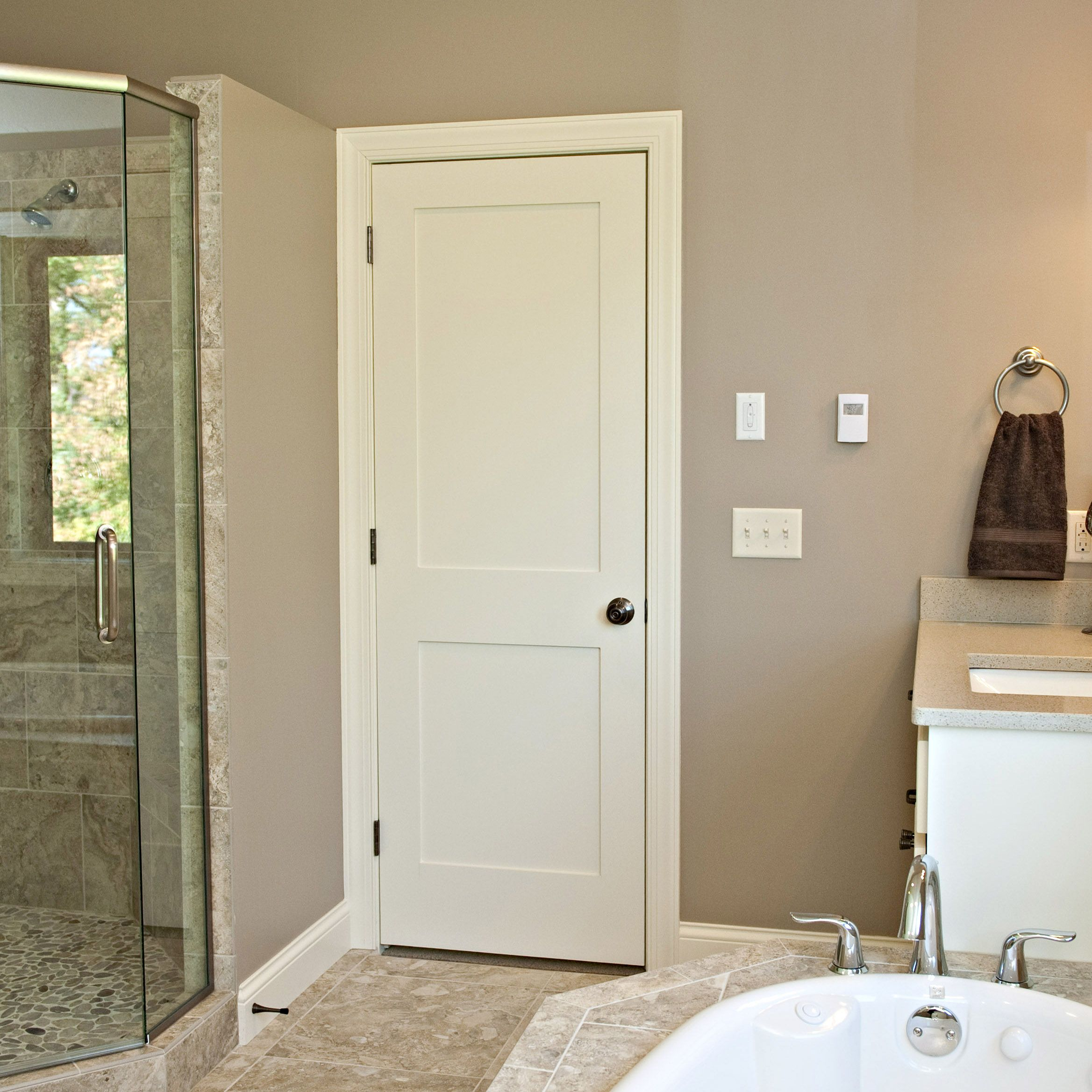 how to remove a pocket door to paint