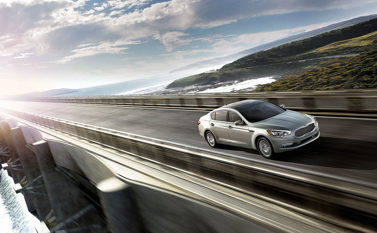 The Kia K900. Quieter. Smoother. A Better Ride than others