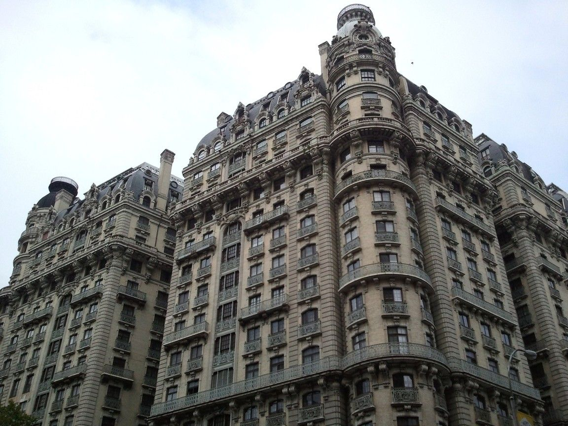Ansonia Apartment Building, Opened In 1904 As The Hotel Ansonia, The First  Air  Part 38