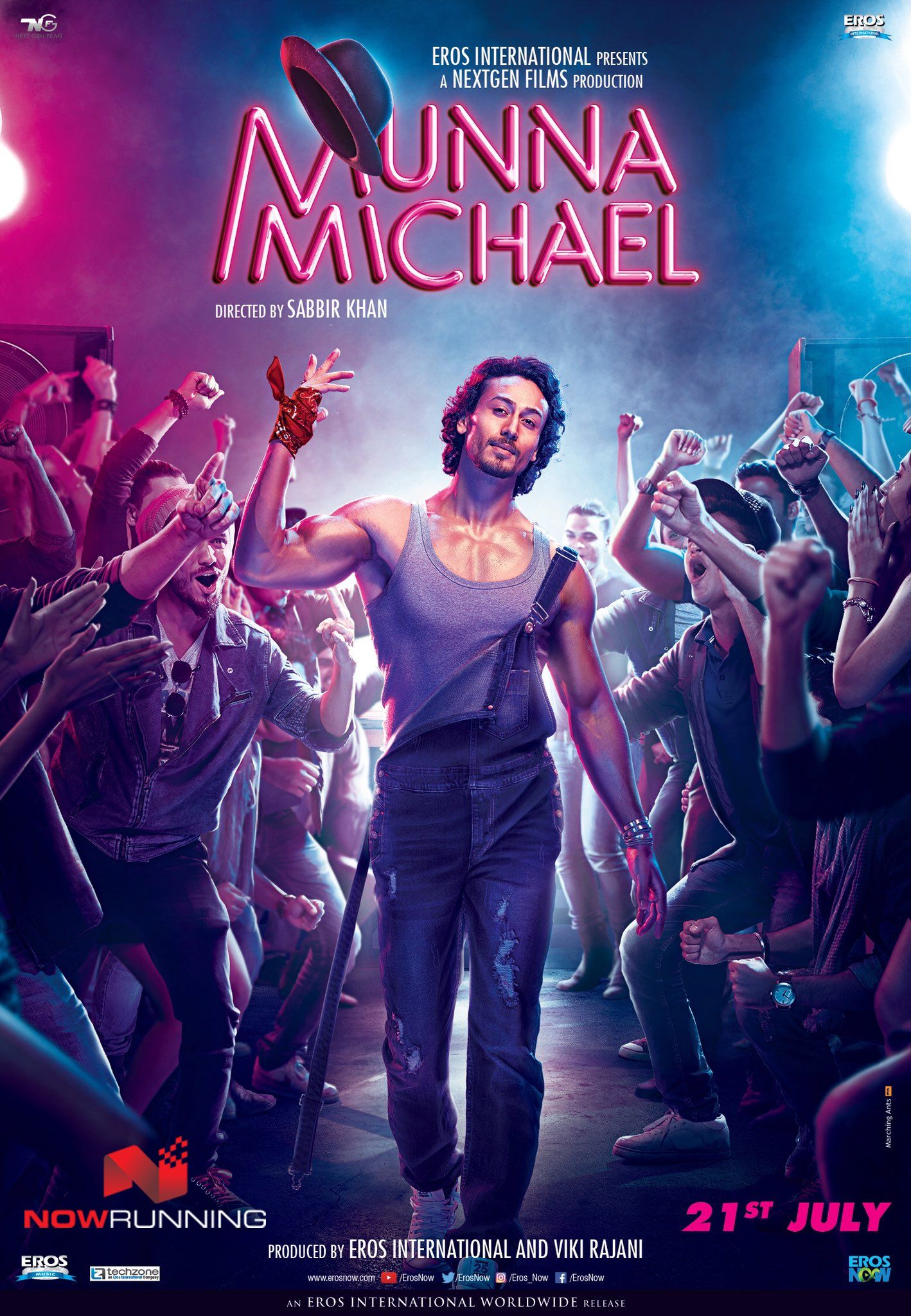 Tiger Shroff in 'Munna Michael' New Poster Full movies
