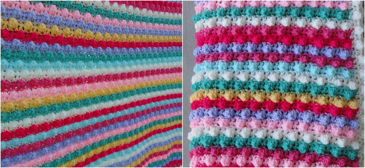 Baubles, Baubles, Baubles Baby Blanket | My Knitting & Crochet ...