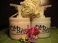 O! BABY!  - Organic Baby Body Butter - 16oz with pump