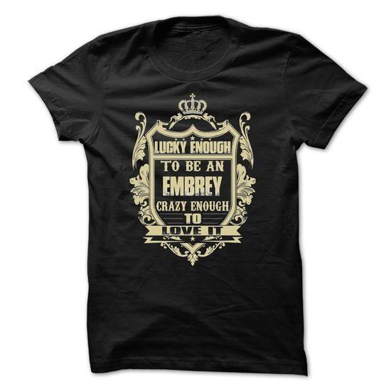 [Tees4u] - Team EMBREY - #golf tee #fall hoodie. OBTAIN LOWEST PRICE => https://www.sunfrog.com/Names/[Tees4u]--Team-EMBREY.html?68278