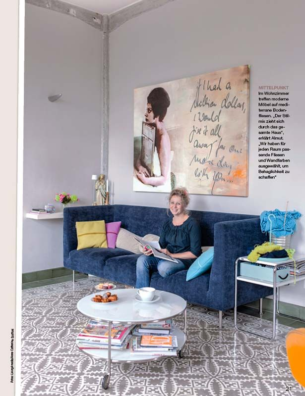 Home - Lisa Wohnen und Dekorieren   Zeitschriften mit VIA Platten ...