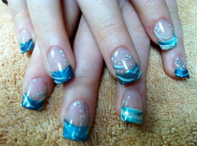 shades of blue by LSTOFFER - Nail Art Gallery nailartgallery.nailsmag.com by Nails Magazine www.nailsmag.com #nailart