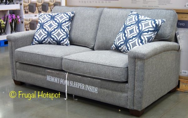 Costco Sale �C Synergy Home Fabric Sleeper Sofa $559.99