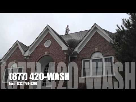 Best Local Professional Cedar Slate Asphalt Shingle Roof Cleaning Roof Washing Near 400 x 300