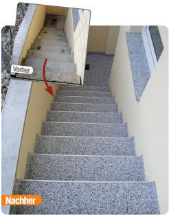 Marmorix Verlegeanleitung Treppen #dekoeingangsbereichaussen