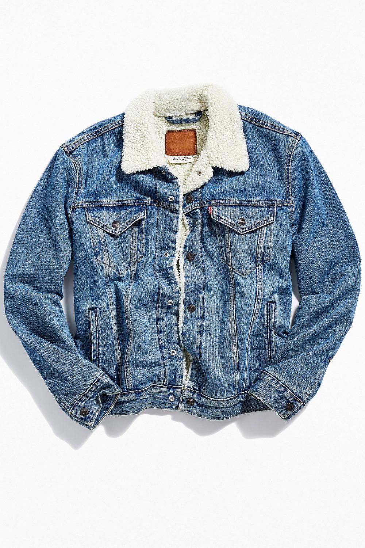 Levi S Type Iii Sherpa Lined Denim Jacket Sherpa Lined Denim Jacket Lined Denim Jacket Denim Jacket Women [ 1500 x 1000 Pixel ]