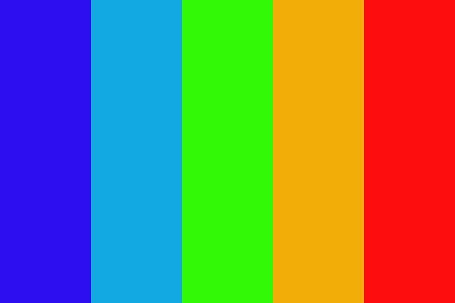 Dark Rainbow Color Color Palette Color Colorschemes