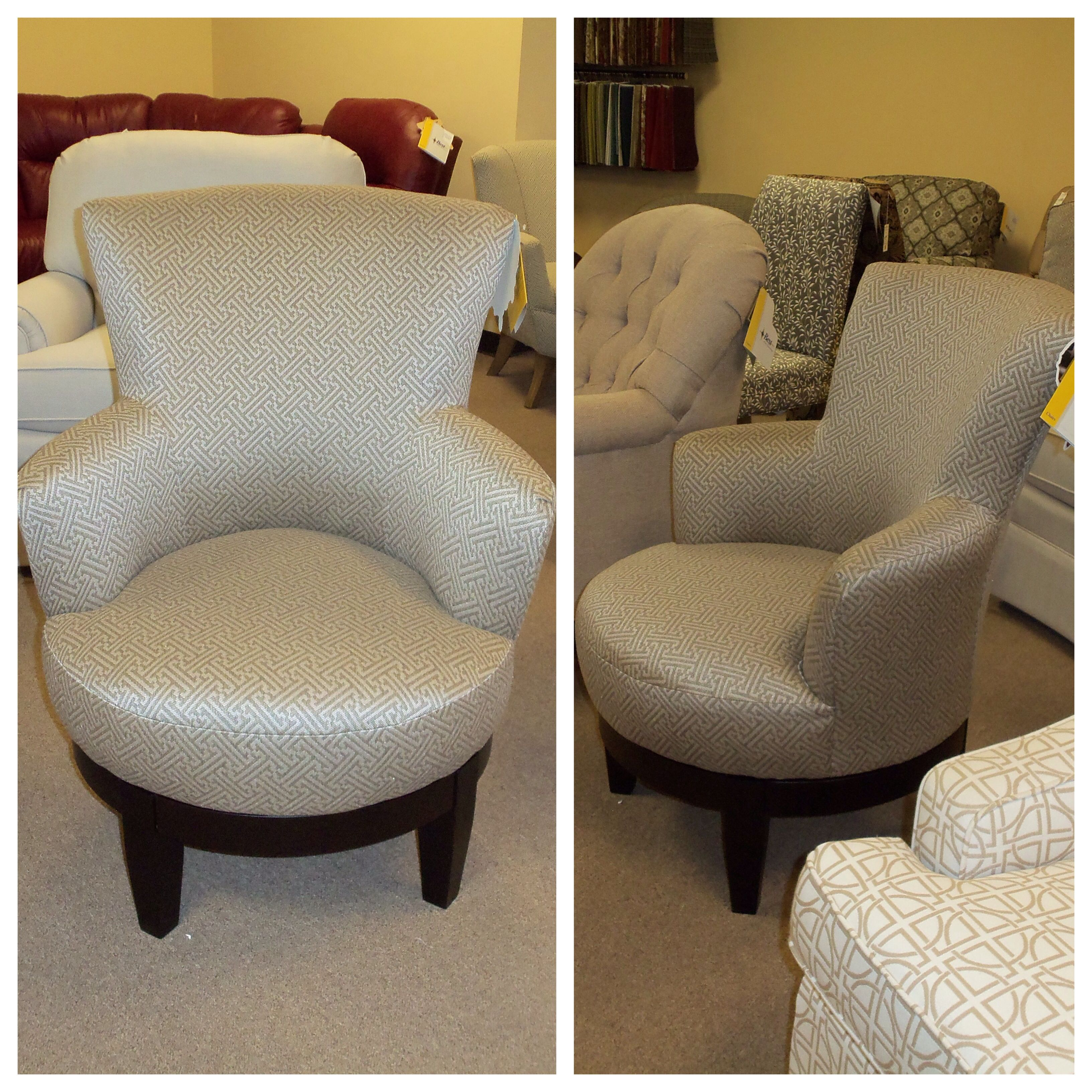 Cute Swivel Chair Cute Swivel Chair New On The Showroom Floor Best Home
