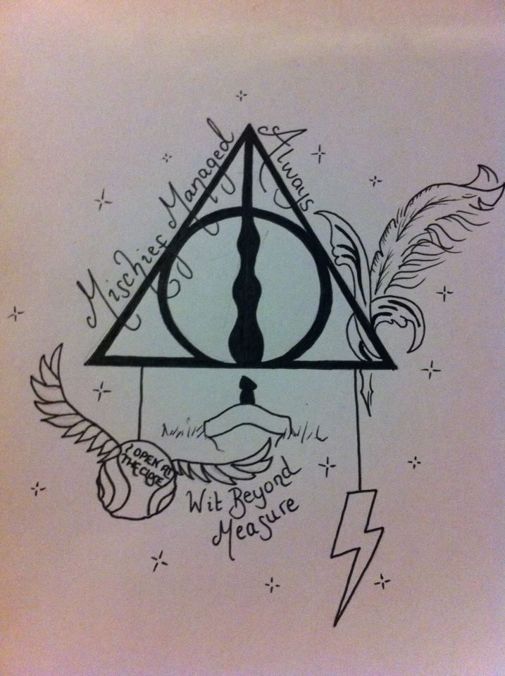 Harry Potter Tattoo Design Hallows By Amylou31 On Deviantart Harry Potter Tattoos Harry Potter Tattoo Deathly Hallows Symbol