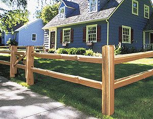 split rail fence with wire backing - Google Search | DIY | Pinterest ...