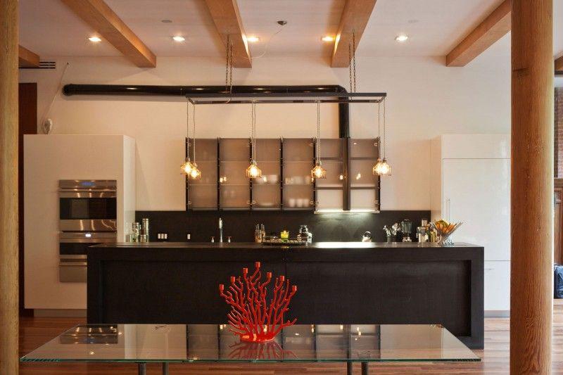 Loft en Nueva York - #interiorismo - #cocinas   Cocina / Comedor ...