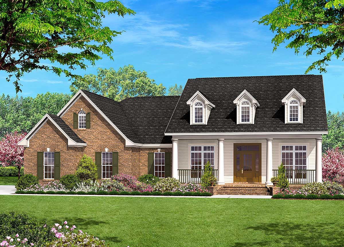 Plan 11708hz An Open Floor With Options Country Style House