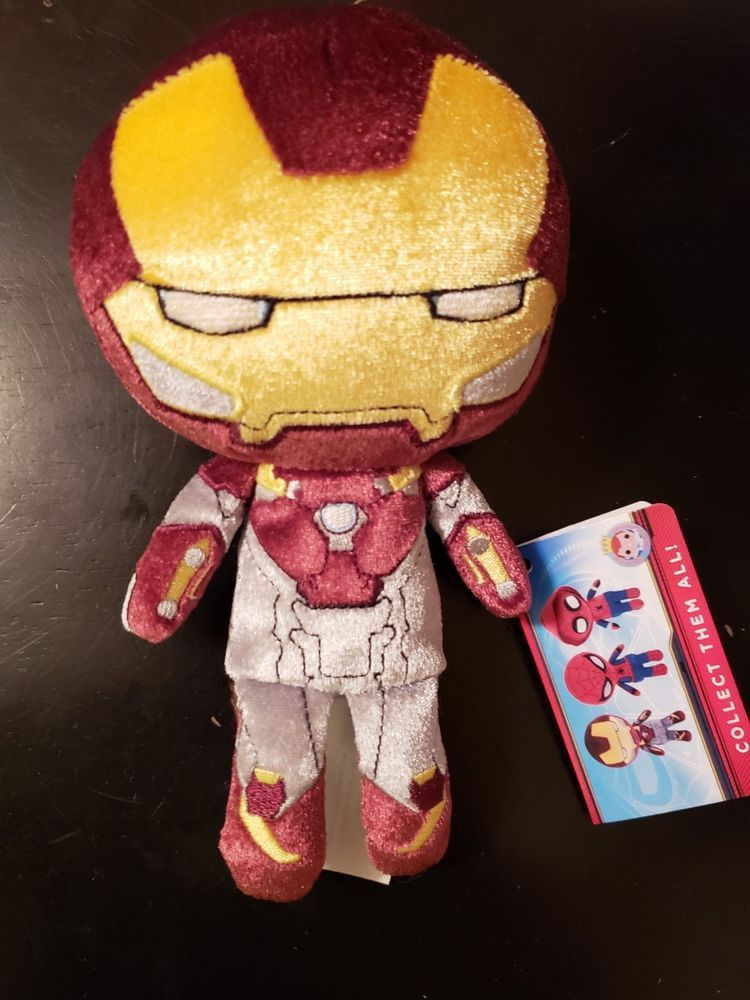 Plushies The Classic  Iron Man Plush by FunKo