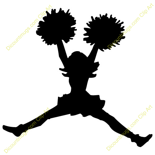clipart 14427 cheerleader cheerleader mugs t shirts picture rh pinterest ca clipart cheerleading clothes cheerleading clipart black and white