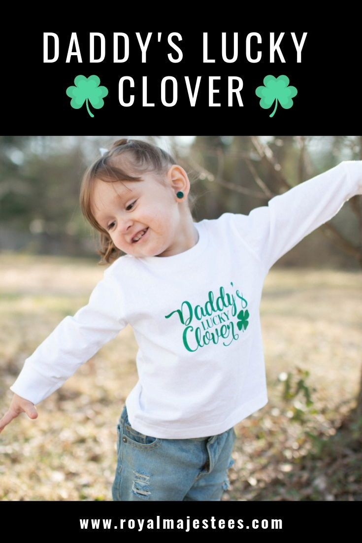 b51157191e9 Daddys Lucky Clover St Patricks Day Shirt in 2019