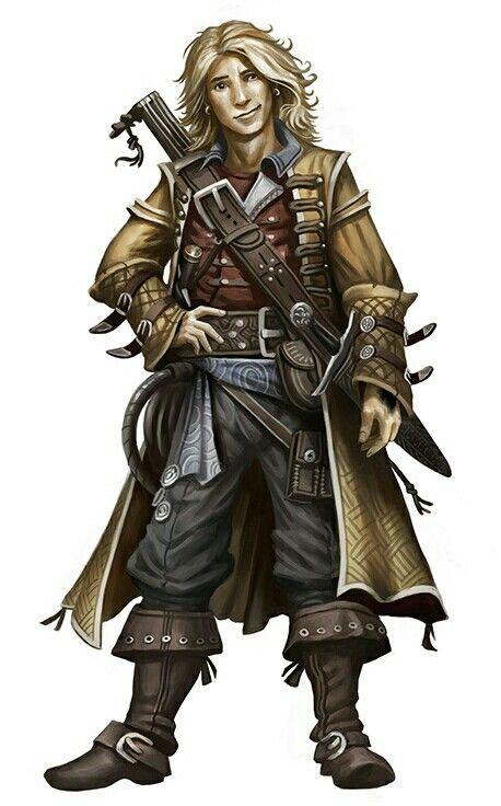Human Bard - Pathfinder PFRPG DND D&D d20 fantasy   Pathfinder d&d