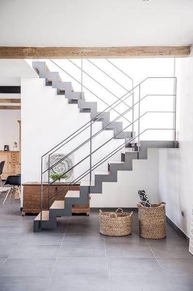 Escada de Concreto: como calcular + 35 exemplos criativos