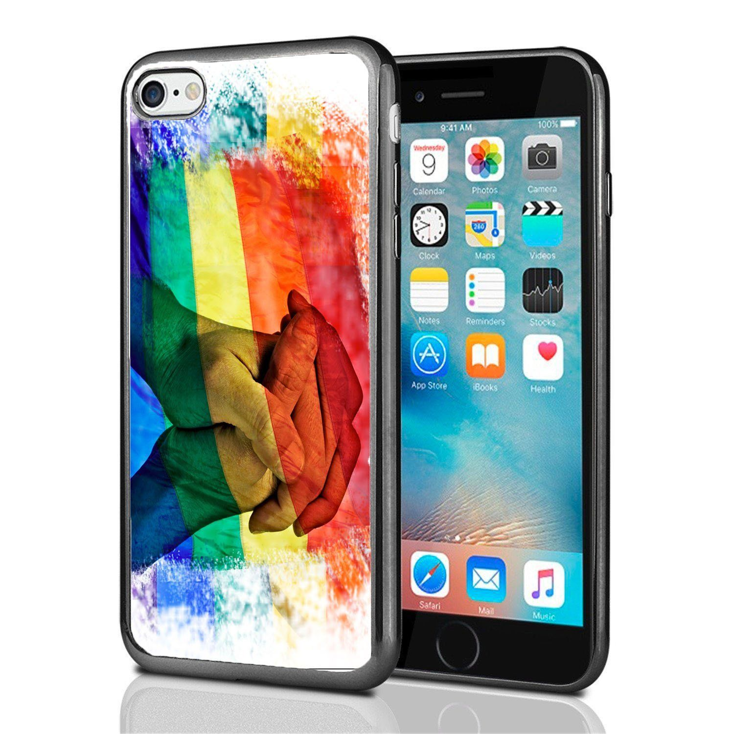 Rainbow flag equal rights for iphone 7 2016 iphone 8