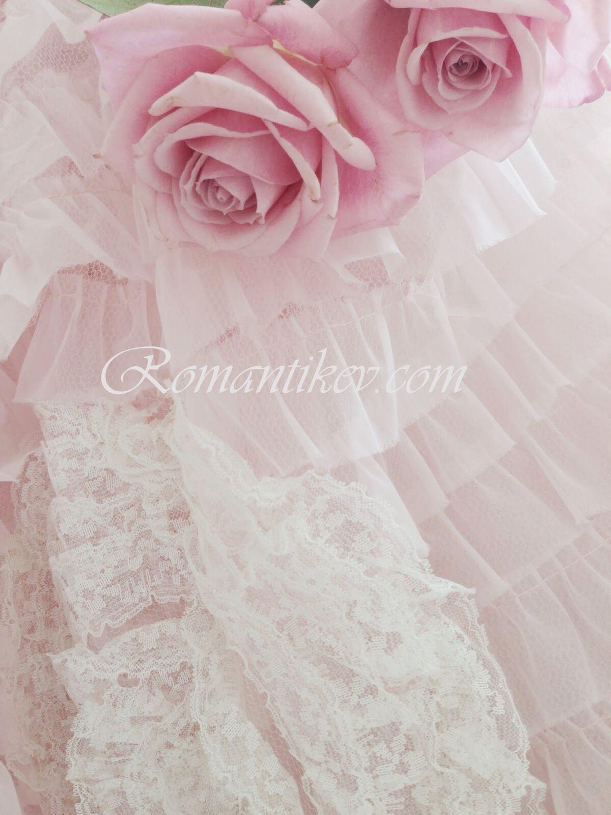 Romantic Shabby chic Vintage elbise Romantikevim