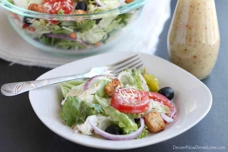 Olive garden salad dressing copycat ingredients 1 packet - Copycat olive garden salad dressing ...