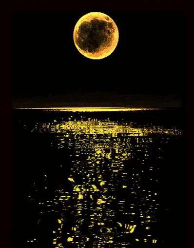 Ночные картинки гифки, днем